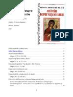Sfantul Ioan Gura de Aur, Cuvantari Despre Viata de Famile