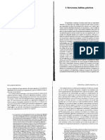 BOURDIEU PIERRE Estructuras, Habitus, Practicas