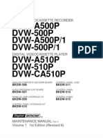 Service Manual Digital VCR  DVWA500P Vol1 part2