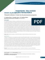 Adherencia Al Tratamiento. Una Revisión Desde La Perspectiva Farmacéutica