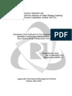 Financial Analysis of IRCTC