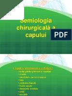 Semiologia Chirurgicală a Capului