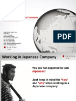 Japanese Work Culture Training_TPIC_Handouts
