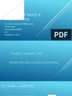 Lesson #2 - Intro to Ratios