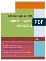 Kompilasi Latihan Soal Ujian Advokat 2