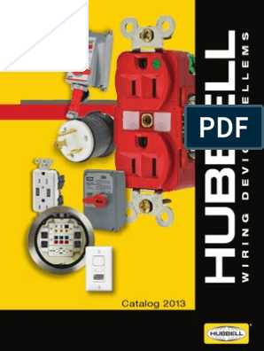 Hubbell Wiring Systems HBL8300ILR HBL Hospital Grade Extra Heavy Duty Illuminated Face Duplex Receptacle Red 3 Wire Grounding 2 Pole 20 Amp 125V 5-20R