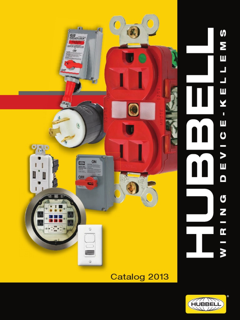 Hubbell Usb Wiring Diagram Magnetek 2013 Catalog Electrical Connector