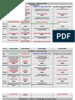 2010 Calif. Fire Prevention Institute Schedule (11-09 Update)