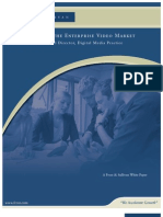 Introduction to the Enterprise Video Market