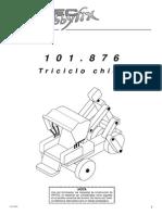 Conductor Rikscha Triciclo Chino - 101876bm