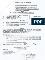 COURT ORDER - Consolidated Contractors Ltd