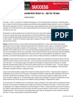 and the future of residential solar isup for grabs