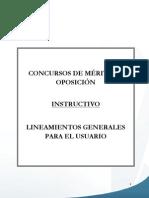 Lineamientos Generales CMO