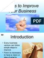 Steps to Improve Your Business