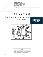 Cadena de 8 Canales de Luz - 110198bm