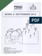 Kliping Berita Perumahan Rakyat, 8 September 2014