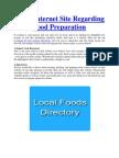 Top 6 Internet Site Regarding Food Preparation