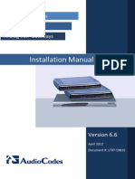 LTRT-59815 MP-11x and MP-124 SIP Installation Manual Ver. 6.6