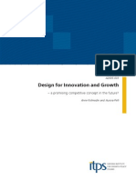 Design for Innovation and Growth an Promising Competitive Concept in the Future 05