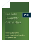 Cross-Border Enforcement of CyberCrime Laws