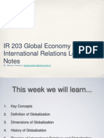 IR203 Week9 Globalization