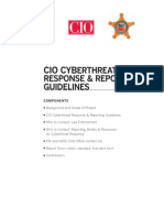 Cyberthreat Response & Reporting Guidelines