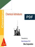 Chemical Admixtures - NJIT
