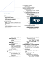 Rem Review Notes