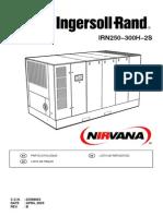 I-R Nirvana IRN250-300H-2S Parts Manual