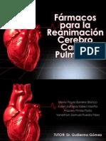 Fármacos en Reanimación Cerebrocardiopulmonar