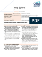Ofsted 10-11 June 2014