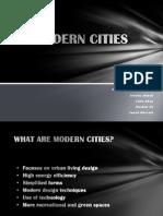 2. Modern Cities