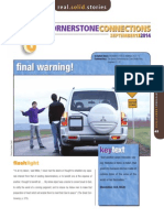 3rd Quarter 2014 Cornerstone Connections Lesson 11