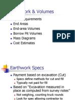 Earthwork & Volumes
