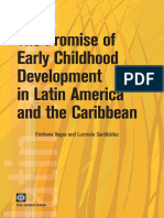 The Promise of Early Childhood Development in Latin America: