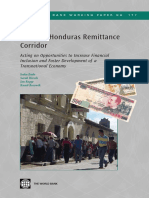 The United States-Honduras Remittance Corridor