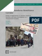 The United States-Honduras Remittance Corridor