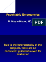 Psych Emergencies 2008