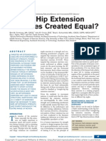 Are All Hip Extension Exercises Created Equal