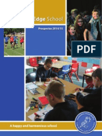 Chiltern Edge School Prospectus 2014-15