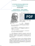 The Three Constitutions of Von Grauvogl