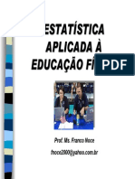 Estatistica Aplicada a Ed. Fis.