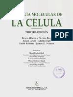 Bruce Alberts Biologia Molecular De La Celula Pdf