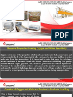 Moisture Barriers in Products Handling