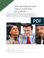 Debate Presidencial Entre Los Candidatos Lacalle Pou