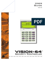 Vision 64 User manual Security