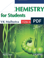 VK Malhotra - Biochemistry for Students, 12th Edition