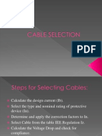 Cable Selection13