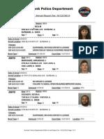 public arrest report for 12sep2014