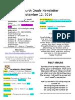 friday september 12 2014
